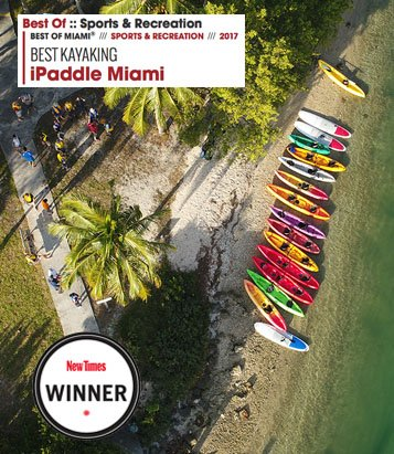 Voted best Kayaking in Miami - iPaddle Miami