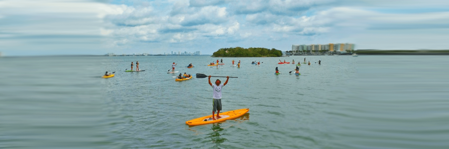 Kayak and Paddle Board tours Miami