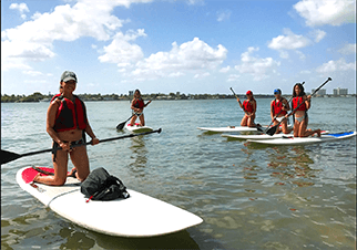 Paddleboard Lessons Miami