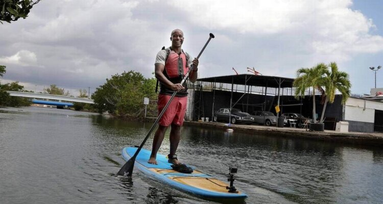 Paddle Board to work