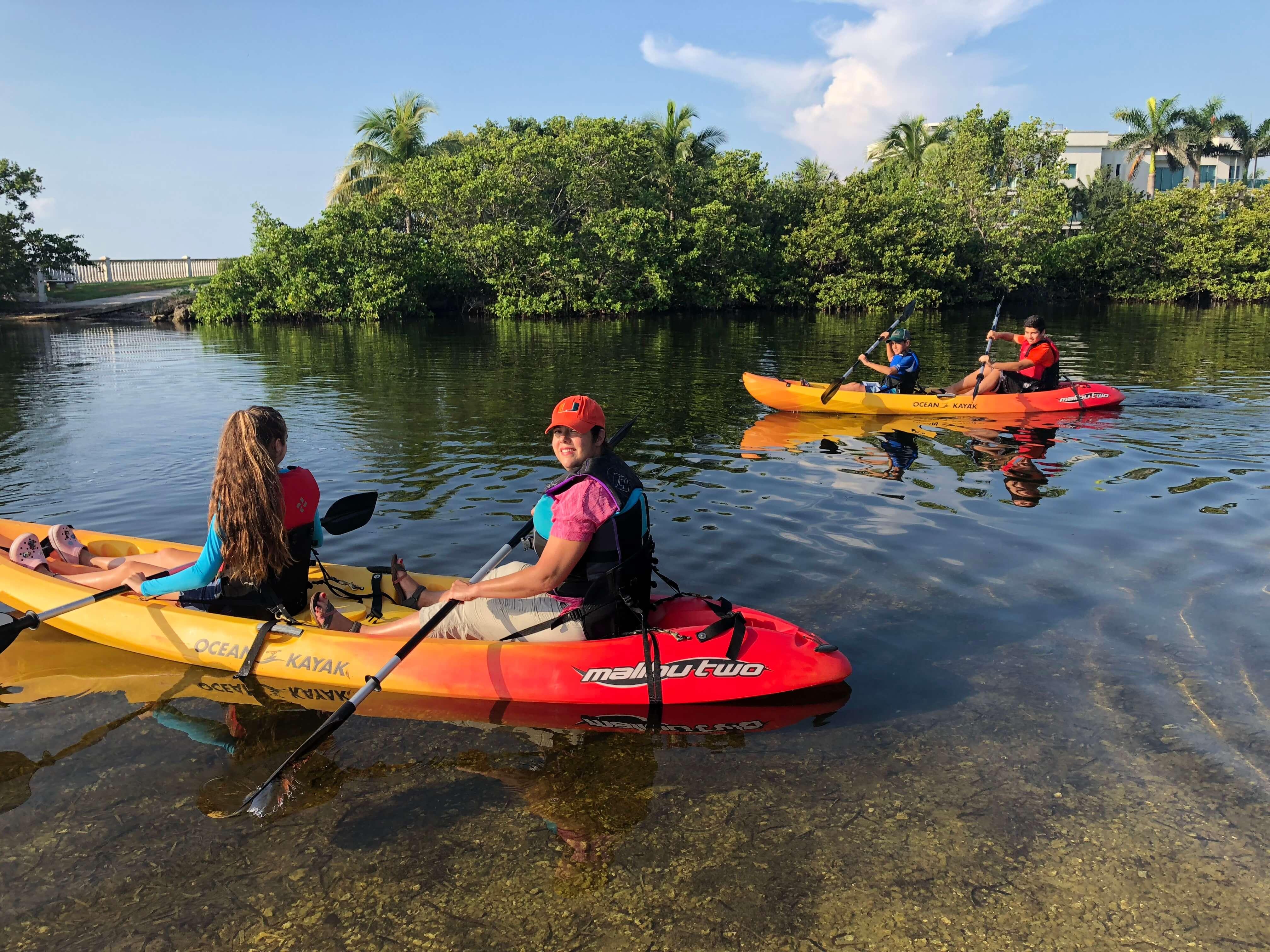 Deering Estate kayaking rental