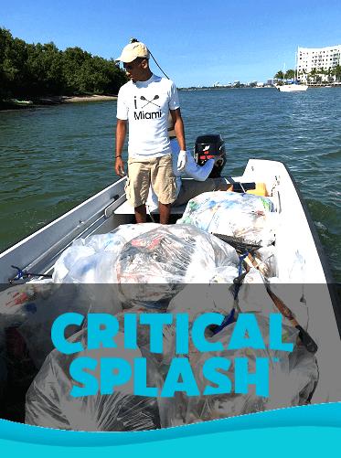 Critical SplashBay Harbor Island Clean Up