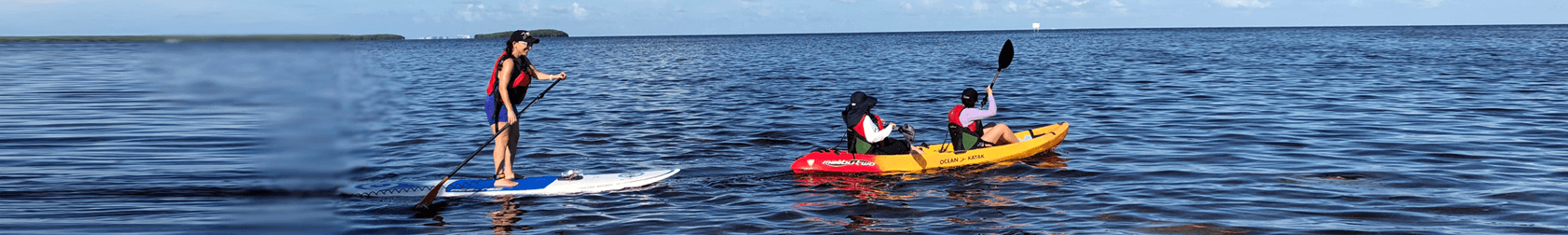 Kayaking Rentals Deering Point Miami